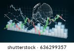 digital 3d rendered stock... | Shutterstock . vector #636299357