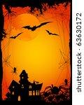 halloween background | Shutterstock .eps vector #63630172