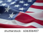 crumpled of united states of... | Shutterstock . vector #636306407