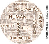 human. word collage on white...   Shutterstock .eps vector #63632488
