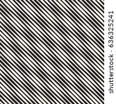 wavy stripes vector seamless... | Shutterstock .eps vector #636325241