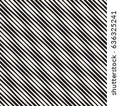 wavy stripes vector seamless... | Shutterstock .eps vector #636325241
