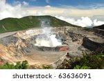 Poas Volcano National Park Of...
