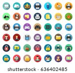 computer icons | Shutterstock .eps vector #636402485