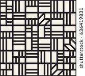 vector seamless pattern. mesh... | Shutterstock .eps vector #636419831