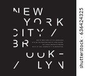 New York Brooklyn Typography ...
