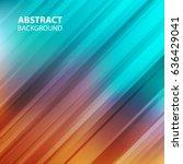 straight diagonal lines... | Shutterstock .eps vector #636429041