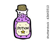 magic potion cartoon   Shutterstock .eps vector #63643513