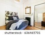 modern bedroom interior | Shutterstock . vector #636465701
