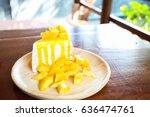 Close Up Mango Crepe With Fres...