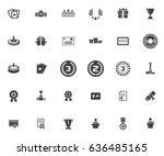 winner icons | Shutterstock .eps vector #636485165