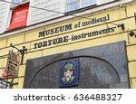 prague  czech republic  circa... | Shutterstock . vector #636488327