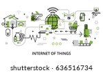 modern flat line design vector...   Shutterstock .eps vector #636516734