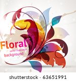 floral design elements. flower...
