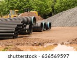 Construction Pipe. Black...