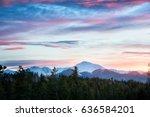 Byers Peak At Sunset