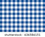 Dark Blue Gingham Pattern...