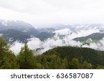 berchtesgaden national park in... | Shutterstock . vector #636587087