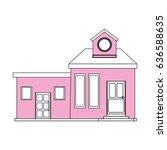 Color Silhouette Cartoon Pink...