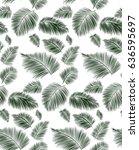 seamless background pattern... | Shutterstock .eps vector #636595697