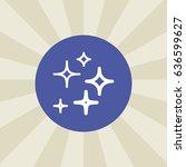 stars icon. sign design....
