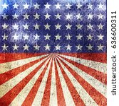 independence day 4th of july... | Shutterstock . vector #636600311