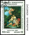 malagasy   circa 1987  a stamp... | Shutterstock . vector #63660142