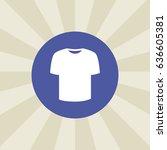 t shirt icon. sign design....