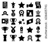 best icons set. set of 25 best...   Shutterstock .eps vector #636605741