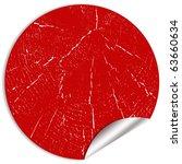 blank sticker | Shutterstock . vector #63660634