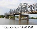 Steel Bridge Crossing Illinois...