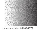 dotwork gradient background ... | Shutterstock .eps vector #636614371