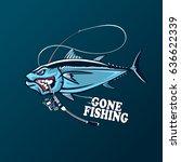 Angry Tuna Fish Logo. Tuna...