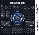 futuristic sci fi modern user...
