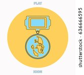 ussr order blue outline vector...