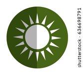 sun ecology symbol icon