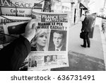 paris  france   may 9  2017 ...   Shutterstock . vector #636731491