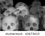 Stacked Skulls A Fractal...