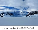 Small photo of Icefield in Wilhemina Bay, Antarctica