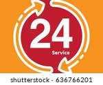 service and support for... | Shutterstock .eps vector #636766201