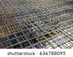 production of reinforced... | Shutterstock . vector #636788095