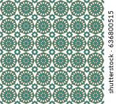 islamic pattern | Shutterstock .eps vector #636800515