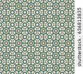 islamic pattern | Shutterstock .eps vector #636813835