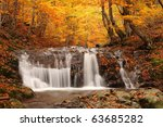 Beautiful Waterfall In Forest ...