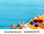 Small photo of Summer beach background