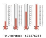illustration of red... | Shutterstock .eps vector #636876355