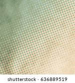 old retro pattern on grungy... | Shutterstock . vector #636889519