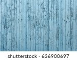 old blue wooden background or... | Shutterstock . vector #636900697