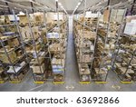 interior of a warehouse | Shutterstock . vector #63692866