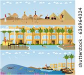 Vector Set Of Holiday In Egypt...